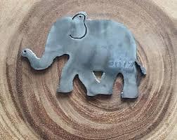 elephant ornament etsy
