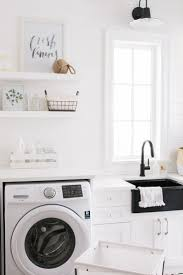 182 best mh home images on pinterest room mud rooms and laundry top 5 items for the perfect laundry room by monika hibbs baskets hooks crates floating shelves for visible storage and a great piece of artwork or