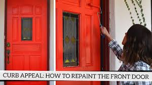 B And Q Exterior Doors by Curb Appeal How To Repaint Your Front Door Youtube