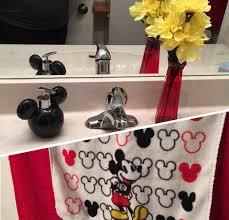 mickey and minnie mouse bathroom decor mickey minnie mouse realie