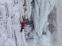 canadian adventurer gadd climb frozen