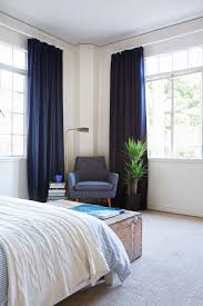 Blue Curtains Bedroom Inspiration Of Blue Curtains For Bedroom And Best 25 Navy Blue