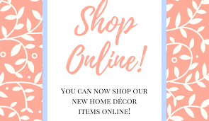 Home Decor Boutiques Online Big Announcement Our Online Shop Is Officially Open The