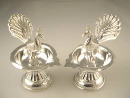 silver items silver pooja accessories indusladies