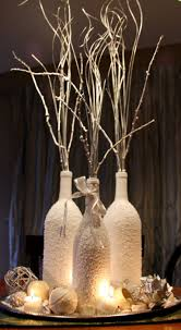 Led Branch Centerpieces by Project Wine Bottle Centerpiece Wine U0026 Redesign Sisters