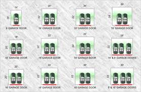 size of 2 car garage standard two car garage size google search garage pinterest
