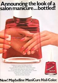 point to color nail polish ads of the u002780s 1981 1985 click
