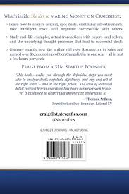 the key to making money on craigslist how i make thousands in my