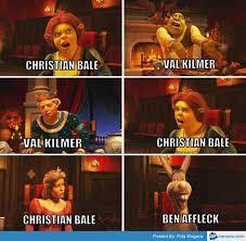 Christian Bale Meme - christian bale val kilmer ben affleck memes com