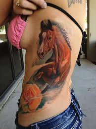 40 incredible horse tattoo for man and woman in black and colorful ink