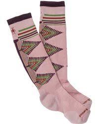 smartwool phd ski light pattern socks lyst smartwool phd light cushion ski socks