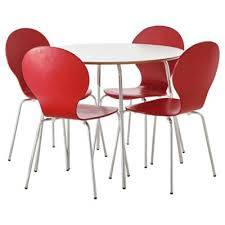 Tesco Bistro Table Buy Bistro Table And Four Chair Set Red From Our Dining Table