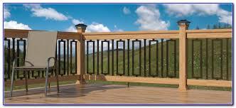 baroque balusters deck railing decks home decorating ideas
