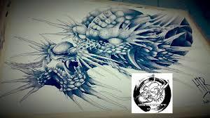 dragon japan tattoo by huttori on deviantart
