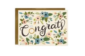 congrats engagement card congrats ring flowers engagement card lovelight paper