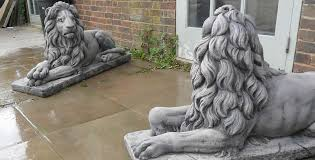 lions statues quality lion statues in uk geoffs garden ornaments