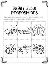 15 best images of free positional worksheets for kindergarten
