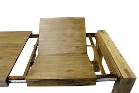 Wohnzimmerm El Akazie Massiv Esstisch Designer Tisch Massiv Ausziehbar 160 220x90 Cm Akazie
