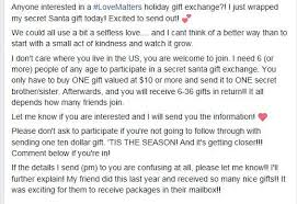 holiday gift exchange scam taking over social media u2014 again fox8 com