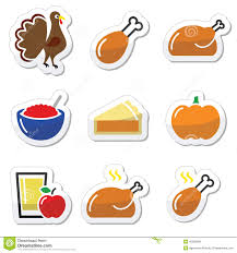 cranberry apple sauce thanksgiving thanksgiving day food icons set turkey pumpkin pie cranberry
