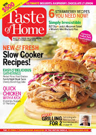 Home Magazine Subscriptions by Free Taste Of Home Magazine Subscription