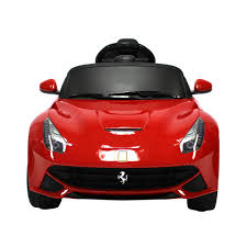 ferrari electric car ferrari f12 berlinetta 6v ride on car u2013 red buydirect4u