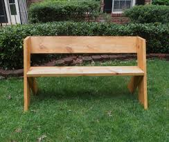 Outdoor Wood Bench Diy by Diy Tutorial 16 Simple Outdoor Wood Bench The Project Lady