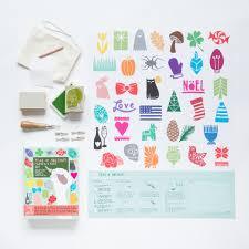 year of holidays carve a stamp kit basteln pinterest major