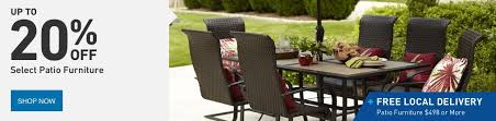 Outdoor Patio Furniture Wicker Shop Patio Furniture At Lowes