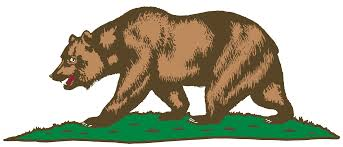 Ca State Flag Clipart Flag Of California Bear And Plot