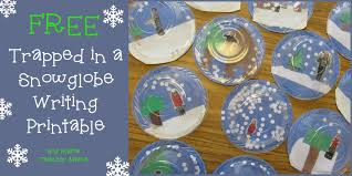 snowman writing paper printable teacher mama free trapped in a snow globe writing printable boy boy mama teacher mama free trapped in a snow globe writing printable