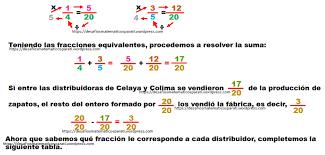 problemas razonados para cuarto grado problemas con fracciones desafíos matemáticos