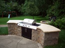 awesome bbq in outdoor grill built with bbq designs stone patio
