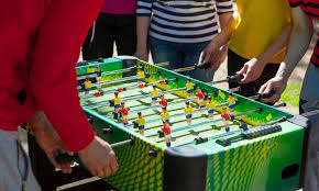 space needed for foosball table how to clean a foosball table game room experts