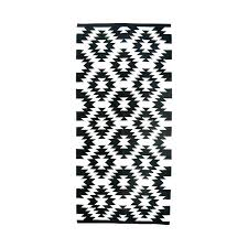 Black And White Striped Runner Rug Cool Black And White Striped Runner Rug Classof Co