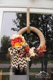 halloween burlap wreath simple diy burlap wreath with fall flowers
