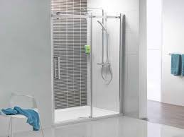 Corner Shower Glass Doors Frameless Sliding Glass Shower Doors Small Home Ideas Collection