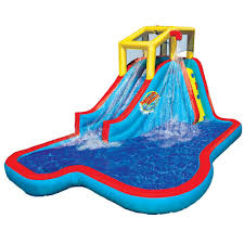 amazon com spring u0026 summer toys banzai slide u0027n soak splash park