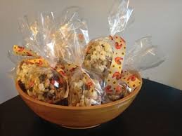 thanksgiving popcorn balls paint the gown