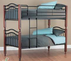 Madison Metal And Timber Bunk Bed Single Furnish Online - Timber bunk bed