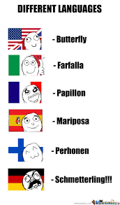 Different Languages Meme - different languages by haloskaa meme center