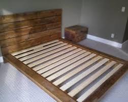 Custom Platform Bed Queen Platform Bed Etsy
