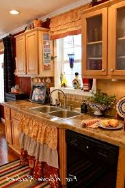modern style kitchen sink skirt farmhouse for curtain cabinet