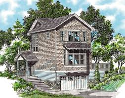 garage under craftsman plan with shop 69286am architectural