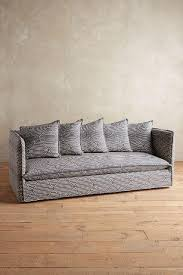 Charcoal Slipcover Carlier Slipcover Charcoal Sofa