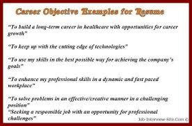 career goal statement examples lukex co