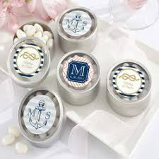 wedding favor containers wedding favor tins