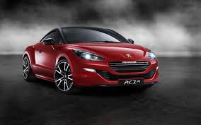 peugeot quartz side view red car peugeot rcz side view wallpaper cars wallpaper better