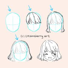 anime hairstyles tutorial anime hair tutorial tumblr