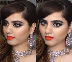 glamorous evening grwm pakistani indian wedding makeup